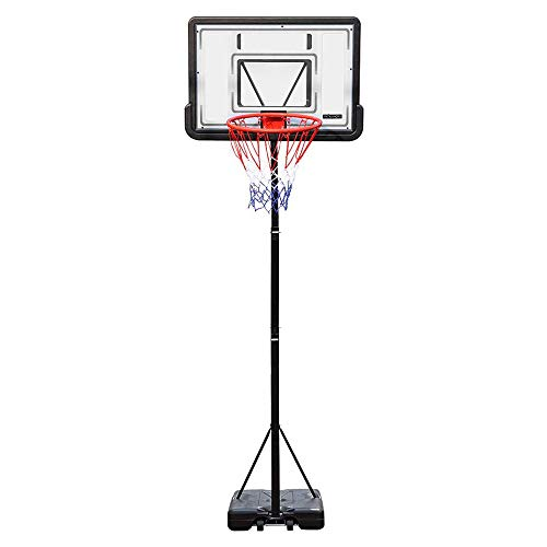 PEXMOR Portable Basketball Hoop Height Adjustable 5.9