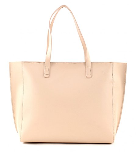 LANCASTER Pur Smooth Shopper Borsa Nude In Corail