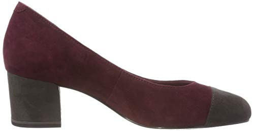 22400 Tamaris anthra 21 Red merlot 511 toe Pumps Women's Closed f4wwnAOCFq
