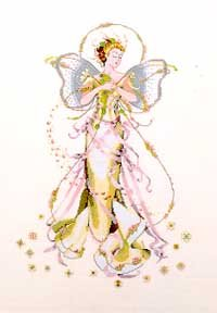 June's Pearl Fairy - Cross Stitch (Fairy Pattern)