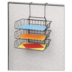 (FEL75310 - Material : Wire - Fellowes Wire Partition Additions Triple Tray - Each)