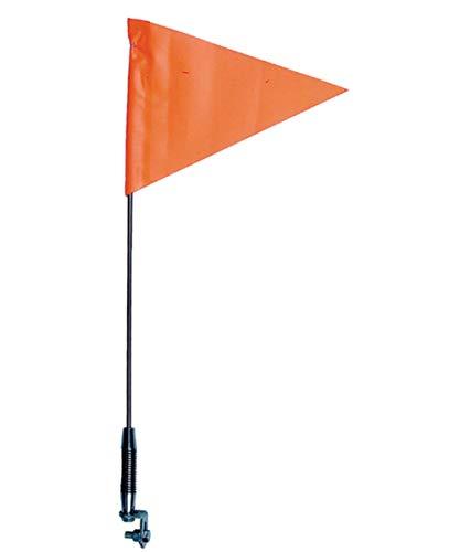 TELESCOPING SPRING MOUNT SAFETY FLAG