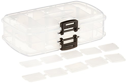 Plano 3449-22 Small Double-Sided Tackle Box, Premium Tackle - Box Stowaway Utility