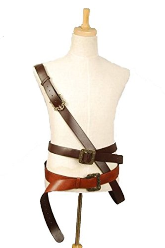 [Yancos Pirates of The Caribbean Jack Sparrow Belt Halloween] (Pirate Clothing And Accessories)