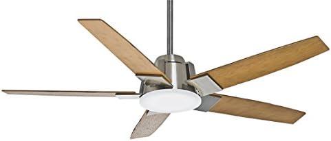 casablanca 59109 zudio 56 inch brushed nickel ceiling fan with rh amazon com
