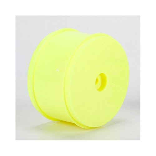 Team Losi 61mm Rear Wheel 12mm Hex Yellow (2): 22/22-4 ()
