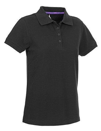 Select Polo Shirt Wilma - Camiseta / camisa deportiva para mujer Negro