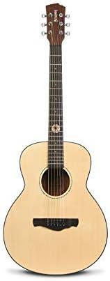 クラシックギター アコースティックギター36インチのウッドギター初心者の男の子と女の子の初心者自習 初心者チューニングギター (色 : Natural, Size : 36 inches)