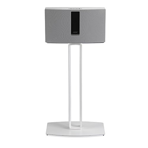 Single Pedestal Extension - SoundXtra Floor Stand for Bose SoundTouch 30 - Single (White)