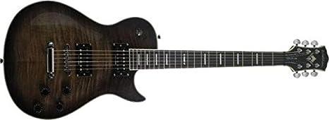 Guitarra WIN-DLX F BB Negra: Amazon.es: Instrumentos musicales