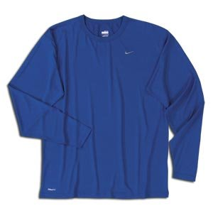 a1f76b3af Image Unavailable. Image not available for. Color: Nike Pro Basic Dri-FIT  Long Sleeve Crew ROYAL