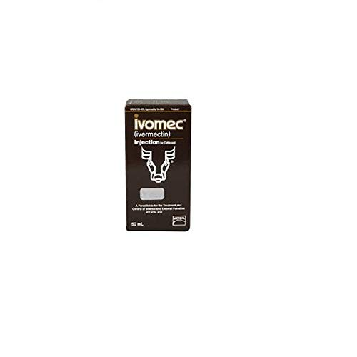 Ivermectin Injection (Merial 000683 Ivomec Parasiticide Injection For Swine & Cattle, 50ml)