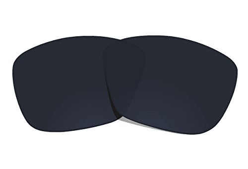 COLOR STAY LENSES 2.0mm Thickness Polarized Replacement Lenses for Oakley Hold On OO9298 Black by COLOR STAY LENSES