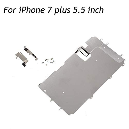 oGoDeal LCD Screen Metal Back Shield Plate Assembly Replacement for iPhone 7 Plus with Small Parts Set (5.5