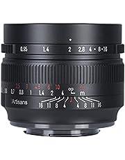 7artisans 50mm f0.95 Fuji X-Mount Camera Lens APS-C Larger Aperture Manual Focus Lens for Fujifilm X-A1 X-A10 X-A2 X-A3 X-A5 X-A7 X-T1 X-T10 X-T2 X-T20 X-T3 X-T30 X-T100 X-PR01