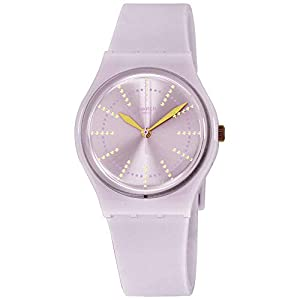 Swatch Originals Quartz Movement Pink Dial Ladies Watch GP148