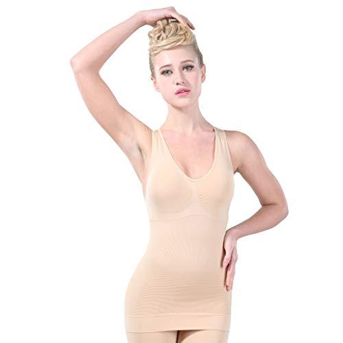 Ultrasoft Seamless Thong - Prime Amazon Day,YetouWomen Seamless Firm Control Shapewear Faja Open Bust Bodysuit Body Shaper Beige