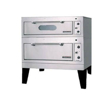 Garland E2015 Electric Double Deck Bake/Roast Oven with (1) 12 Gauge Steel Deck (12