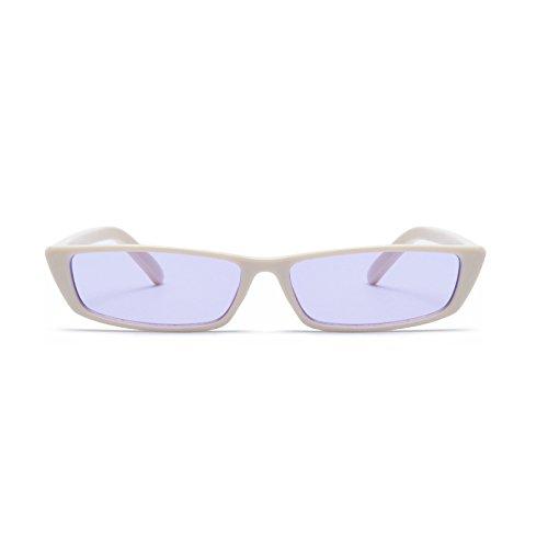 américaines Marine Lunettes Soleil et européennes Petites Lunettes White Lack Box Soleil Lunettes Box Femmes Gray Nouvelles Couleur Sunglasses de Purple Black Générique de xY51wnAq1