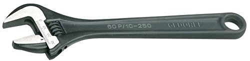 """Gedore 60 P 12 Adjustable spanner open end 12"""" phosphated"""