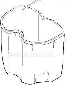Waste Water Bucket - Puzzi 100/200 & Puzzi 10/2, 10/2