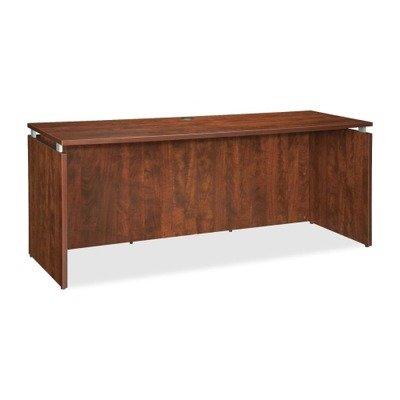 Lorell LLR68693 Executive Desk, Cherry