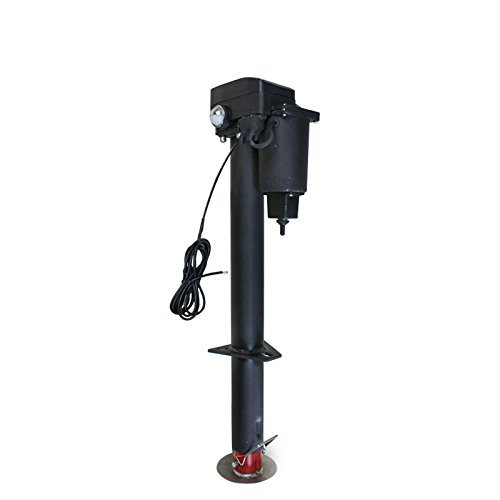 ZENY Electric Power Tongue Jack 12V 3500 lb Capacity RV Boat Jet Ski Solid A-Frame Trailer Camper