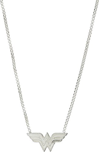 Alex and Ani Women's Wonder Woman Adjustable 21 in Necklace Sterling Silver One Size]()