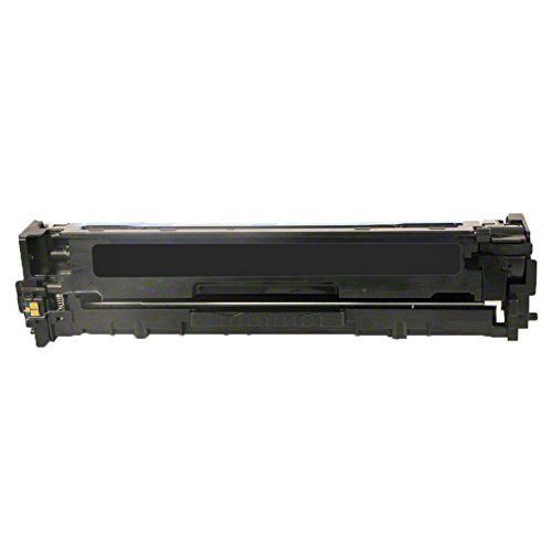 1 Inktoneram Replacement toner cartridge for HP CE320A 128A Black Toner Cartridge LaserJet Pro CP1525n CP1525nw CM1415 CM1415fnw CM1415fnw MFP (Black Cartridge Hp Ce320a)