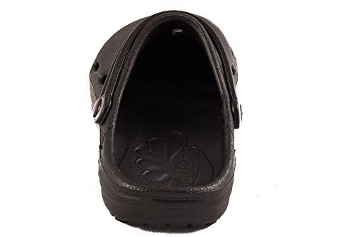 Zuecos Negro y DUX Shi Mules Chung Unisex 7900010 Shoe Shibit Adultos 8vTpZqB