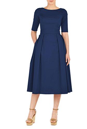 Buy belted drop waist dress - 9