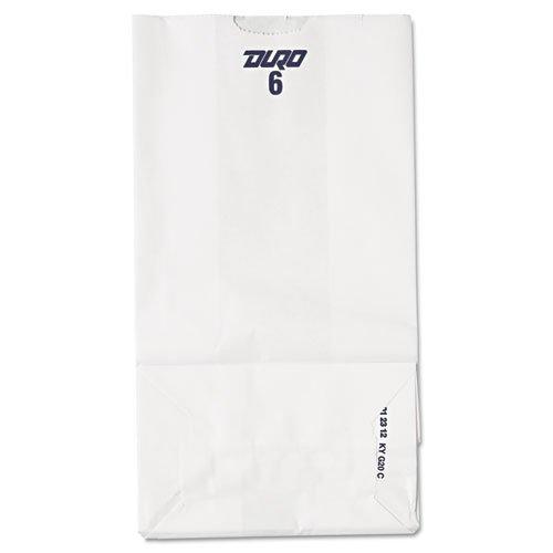 baggw6500 6 #紙バッグ、35-poundベース重量、ホワイト、6 x 3 – 5 / 8 x 11 – 1 / 16、500-bundle B00WC1Z3RK