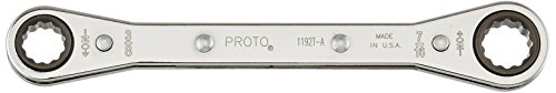 Stanley Proto J1192T-A 12 Point Ratcheting Box Wrench 3/8 X (Single Ratchet Box Wrench)