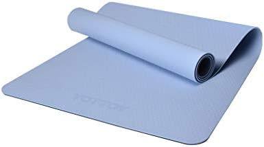 Amazon.com: WYNYJ Fitness Mat, Beginner Ladies Non-Slip Yoga ...