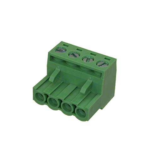 TERM BLOCK PLUG 4POS STR 5.08MM (Pack of 20)