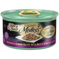 Fancy Feast Elegant Medleys Tastemakers Whitefish & Shrimp w