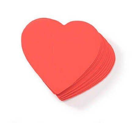 Foamies Shapes - Hearts (Foamies Heart)