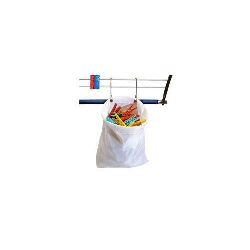 Medidas: 27 x 30 cm Multicolor Parodi /& Parodi Bolsa porta pinzas impermeable fabricada en poli/éster