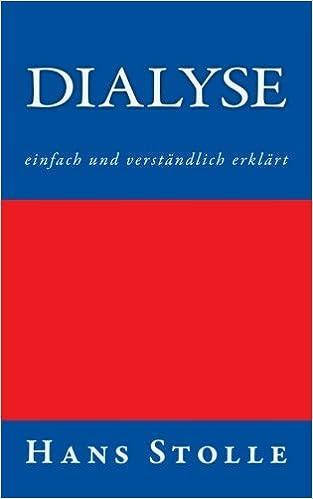 Book Dialyse: einfach und verständlich erklärt
