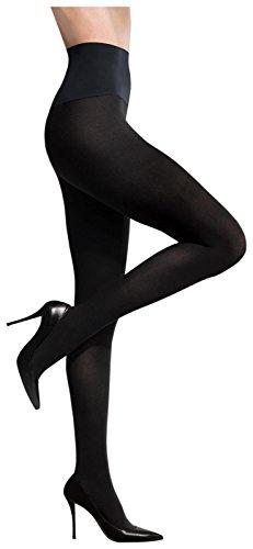 - Commando Women's Maternity Ultimate Opaque Matte Tights - Medium - Black