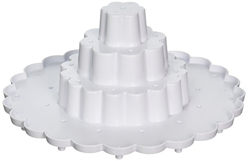 Nordic Ware Tiered Cake Pop Display Stand, White]()