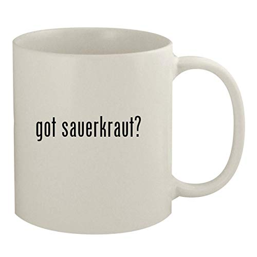 got sauerkraut? - 11oz White Coffee Mug