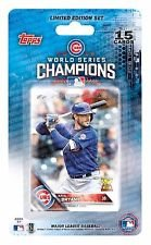 2016 Topps Series 1 & 2 Chicago Cubs Baseball Card Team Set - 22 Card Set - Includes Kris Bryant, Kyle Schwarber, Anthony Rizzo, Jake Arrieta, Jon Lester, Addison Russell, Javier Baez, and more!