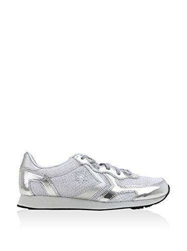Auckland Gymnastique Femme De Ox Converse Argent Racer Silver Chaussures 4pWOqqg1cf