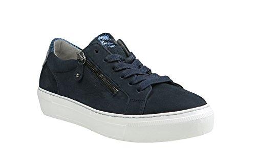 nubuck 5 para Botas 39 16 mujer 38 Sneaker 40 314 azul 64 Gabor mujer para 38 cordones con F Azul w1I1RxBqH
