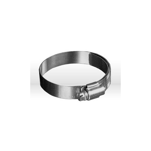 Band Liner and Housing are Made From Stainless Steel Precision Brand 039-35526 Shielded//Lined Worm Gear Hose Clamp 4-1//16/″ Pack of 10 5/″ Clamping Diameter
