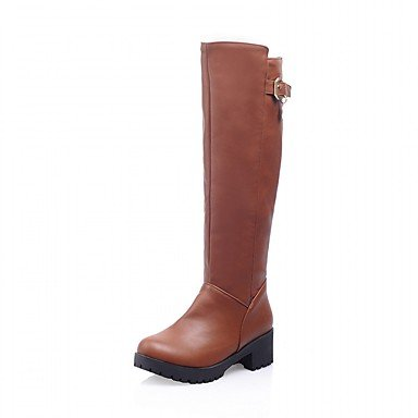 amp;Amp; RTRY Career Leatherette Platform Casual Women'S Wedding Patent US4 EU36 Evening 5 Party 5 Big Boots Comfort Kids UK3 amp;Amp; Dress Novelty Leather Fall Spring Winter Office raUqXrdvW6