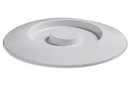 Thunder Group NS608CW 12-Pack Tortilla/Deep Divided Server Lid, 8-1/4-Inch, White