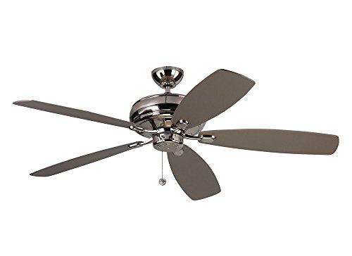 Monte Carlo Polished Ceiling Fan - 6