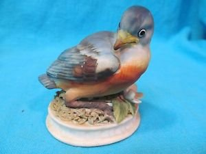 Lefton China Eastern Blue Bird Figurine